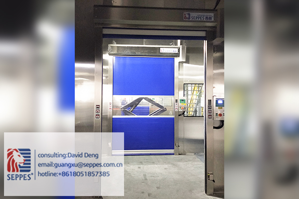 SEPPES Stainless steel fast door