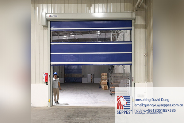 SEPPES remote control high speed door